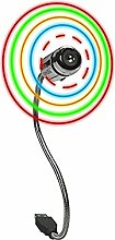 AERO Ventilateur USB LED Multicolore