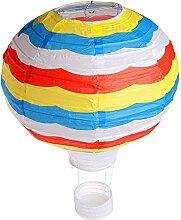 Aeromdale Montgolfière Suspendus Papier Lanterne