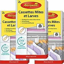 Aeroxon - Cassettes Mites et Larves - 3x2 pièces