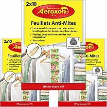 Aeroxon - Papiers Anti-Mites Textiles - 3x20