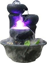 AERVEAL Fontaine À Eau En Céramique Fontaine À