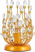 AERVEAL Lampe de Table Crystal Éclairage