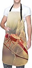 Aeykis - Tablier de cuisine libellule avec poche