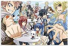 Affiche animée Fairy Tail (4) pour chambre