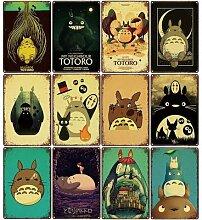 Affiche d'art d'animé japonais «mon