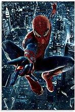 Affiche de film Avengers Spiderman - Art abstrait