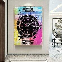 Affiche de luxe Pop Art, impression couleur sur