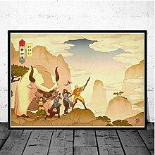 Affiche Imprime Avatar Le Dernier Maître De