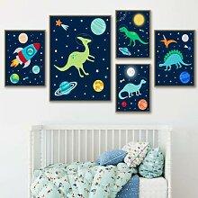 Affiches et imprimés d'astronautes de
