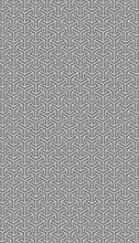 AG Design 6594 Décoration géométrique sur Grise