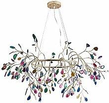 Agate Lustre,Accueil Décoration Lampe,Salon