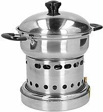 Agatige Mini Hot Pot Ensemble de cuisinière à