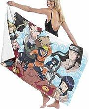 AGHRFH Naruto Serviette de plage Drap de bain