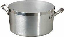 Agnelli Marmite Haute en Aluminium BLTF, en Acier