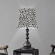 Agroupdream Abat-jour imprimé léopard pour lampe