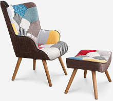 Ahd Amazing Home Design - Fauteuil Patchwork