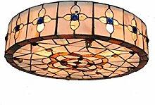 AIBOTY Tiffany Style de Lampe de Plafond de 16