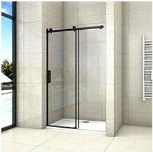 Aica porte de douche coulissante 120x200cm porte
