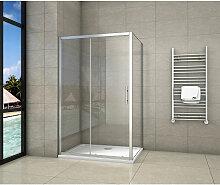 Aica Sanitaire - Cabine de douche 140x90x190cm
