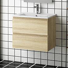 Aica Sanitaire - Meuble salle de bain 50x38.5x45cm