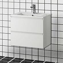 Aica Sanitaire - Meuble salle de bain 60x38.5x45cm
