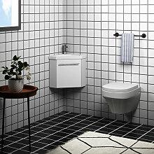 Aica Sanitaire - Meuble salle de bain d'angle