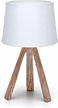 Aigostar - Lampe de table, chevet, bureau avec
