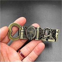 aimant, Ouvre-bouteilles métalliques