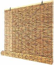 AINUO Store enrouleur décoratif rétro en bambou,