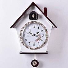 AIOJY Cuckoo Horloge Murale Oiseau Pendule Pendule