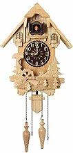 AIOJY Horloge Murale Européenne De Coucou en Bois