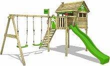 Aire de jeux Portique bois FunFactory avec