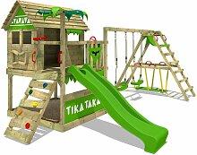 Aire de jeux Portique bois TikaTaka avec