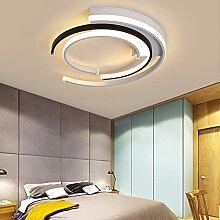AIRUI Rond LED Plafonnier, Moderne Géométrique