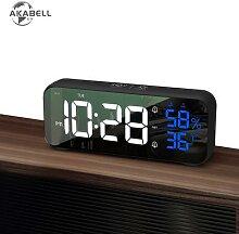 AKABELL – horloge numérique de Table à LED