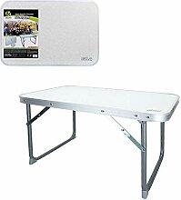 Aktive Table Basse Pliante 60x40x40 cm Blanche