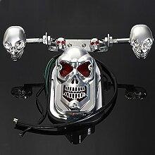 Alamor Skull Moto Atv Arrière Feu Arrière