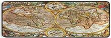 ALARGE Tapis de sol de cuisine antique, motif