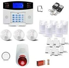 Alarme Maison Sans fil GSM complet avec sirènes