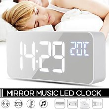 Alarme musicale numérique à 2 LED, commande