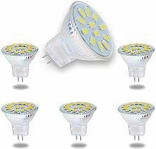 ALASON 6 Les Ampoules LED MR11 5W GU4 remplacent