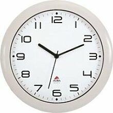 ALBA Horloge silencieuse 30cm quartz - Blanc