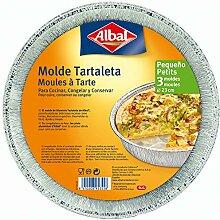 Albal Moule à tarte rond en aluminium 23 cm