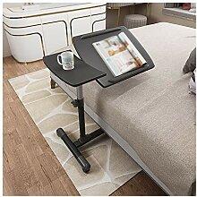 ALBBMY Table de lit/chaise portable en forme de C