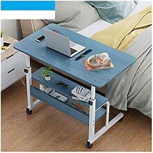 ALBBMY Table Roulante De Lit Canapé Pliable