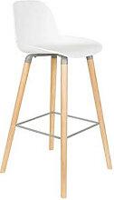 ALBERT KUIP - Chaise haute scandinave avec pieds