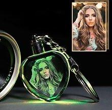 Album Photo personnalisé avec Photo en cristal,