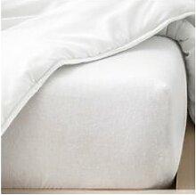 Alèse plastifiée pour lit bébé dessus éponge