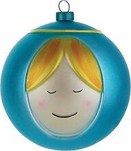 Alessi Amj13 2 Madonna Boule de Noël en Verre