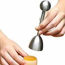 Alftek Toqueur à œuf Coupe œuf Topper Outil